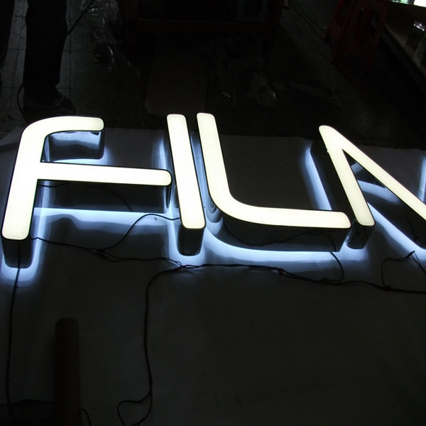 Frontlit and Halolit Electronic Channel Letter Signs