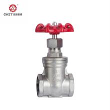 Válvula de compuerta de metal para fluido