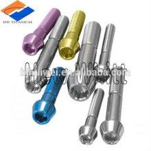 Factory price for titanium taper head bolt DIN 912
