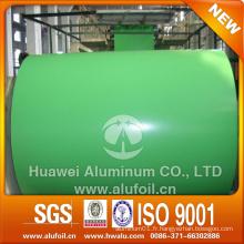 Bobine et feuille en aluminium recouvert de couleur PE / PVDF pour la décoration de l'obturateur