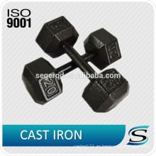 Mancuerna de hierro fundido hexagonal lb
