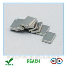 Nickel-Beschichtung N38 Magnet 20x12x2mm