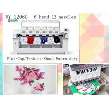 2016 Six Head Computer Best Design Embroidery Machine