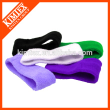 2015 Cotton solid color custom head sweatband