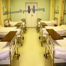 Толщина ПВХ толщиной 2,0 мм для комнаты больницы