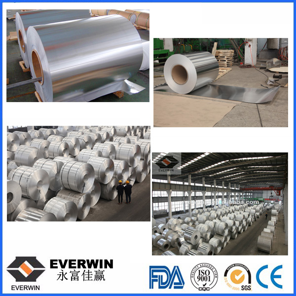 PS base aluminium coil