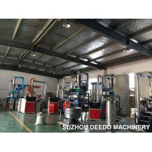 Máquina de trituração do pó do PVC da sucata e dos flocos