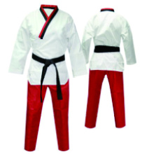 color uniforme de Taekwondo cuello poom