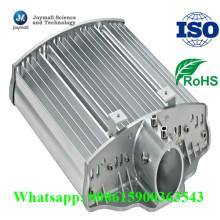 Aleación de aluminio del OEM que moldea la cubierta al aire libre de la luz de calle del LED