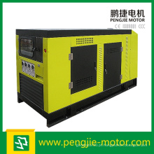 Com Perkins Engine 1106A-70tg1 gerador silencioso diesel para uso doméstico com painel de controle de Comap