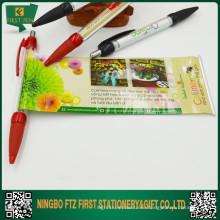 Пластиковая вытащить рекламную баннерную ручку