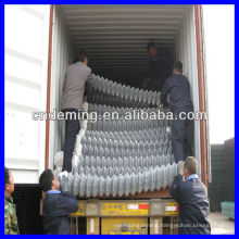 High Quality Galvanized and PVC Coated Chain Link Fence (professional factory)