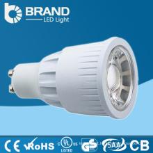 Manufactory Atacado 220V 3w / 5w / 7w / MR16 / GU10 COB LED Spotlight, COB Dimmable MR16 GU10 luz do ponto do diodo emissor de luz