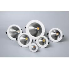 Round LED COB downlight