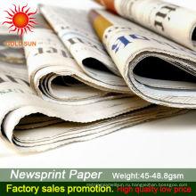 газетная бумага в рулонах для продажи