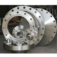 Large diameter flange weights