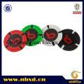 9.5g 4-Stripe Pure Clay Sticker Poker Chip (SY-C18)