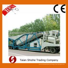 YHZS35 Mobile Betão Misturando Batch batching Plant à venda 35m3 / h