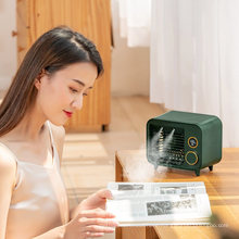 Spray New Upgrade Portable Handheld Cooling 400ml Mist Fan Humidifier Battery Operated Mini Fan with Five Speed Level