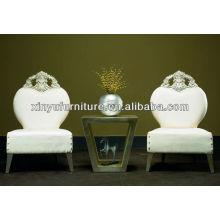 Mesas e cadeiras clássicas do hotel YXD142