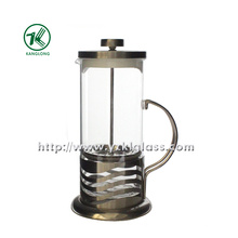 Glass Teapot with Stainless Steel (11*14*23)