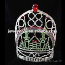 Nova chegada da forma tiaras / coroa de noiva de noiva de casamento de noiva atacado