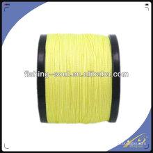 BRLN003 Líneas amarillas, cables trenzados