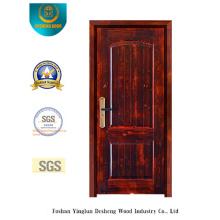 Porta de aço de segurança estilo clássico com pintura (M2-1025)