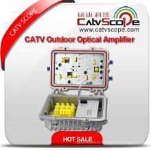 1GHz 40db CATV Bi-Directional Trunk Line Amplificateur de contrôle Agc