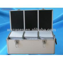caja de CD de alta calidad de 510 CD discos aluminio por mayor de China fabricante