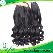 7A Grade Human Wave Hair, Remy Human Hair Extension