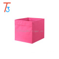 kids non-woven organizer cube fabric toy storage box
