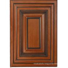 Solid Wood Kitchen Cabinet Door (HLsw-4)