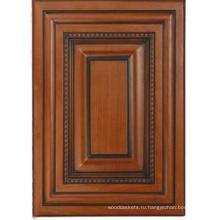 Твердой древесины Кухонный шкаф двери (HLsw-4)