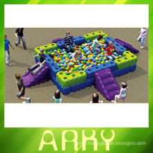 2015 kids play outdoor and indoor plastic tangram ball pool