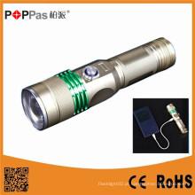 Lanterna elétrica recarregável do diodo emissor de luz do poder