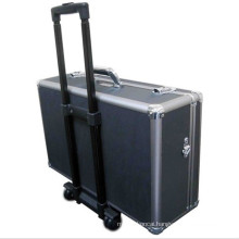 Customized Shockproof Aluminum Alloy Rolling Trolley Camera Kit (with wheels)