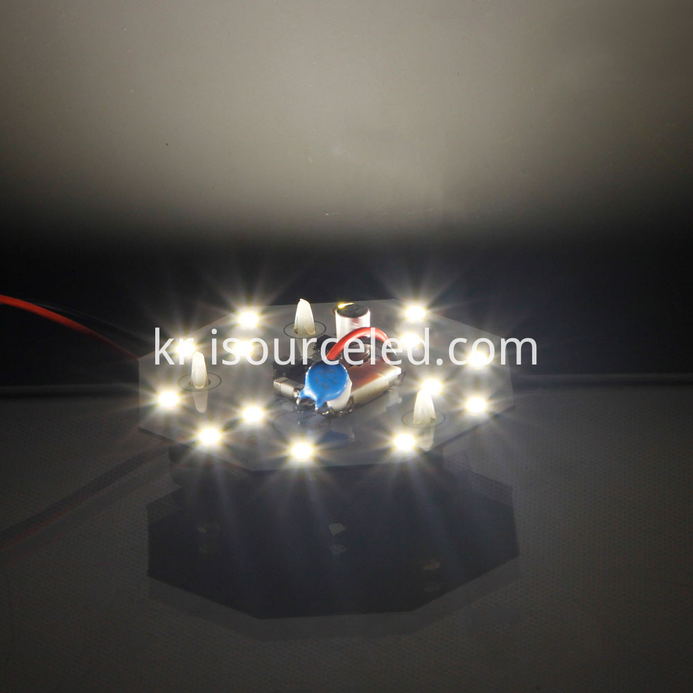 SMD 2835 Warm white 5W AC LED Module