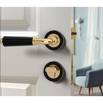 Top quality interior door lock American style wooden door lock Simple and stylish mute door lock