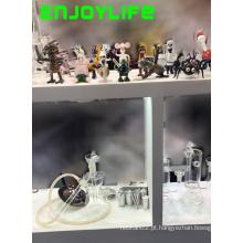 Tubos de vidro Enjoylife, fumar tubo de vidro de água com transporte rápido