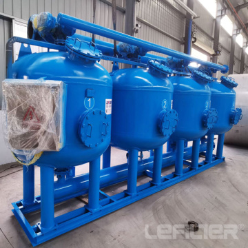 Auto Backwash Shallow Sand Filter for Power Plant