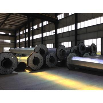 11KV Steel tubular Electric transmission pole