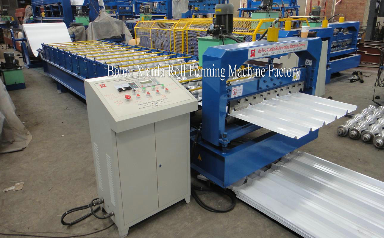 Trapezoidal Roofing Sheet Forming Machine