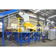 Machine de concasseur de film plastique Watse Recycling