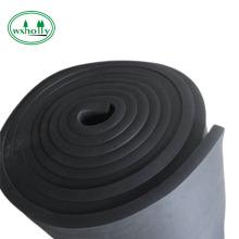 láminas de espuma de epdm de goma de aislamiento térmico incombustible