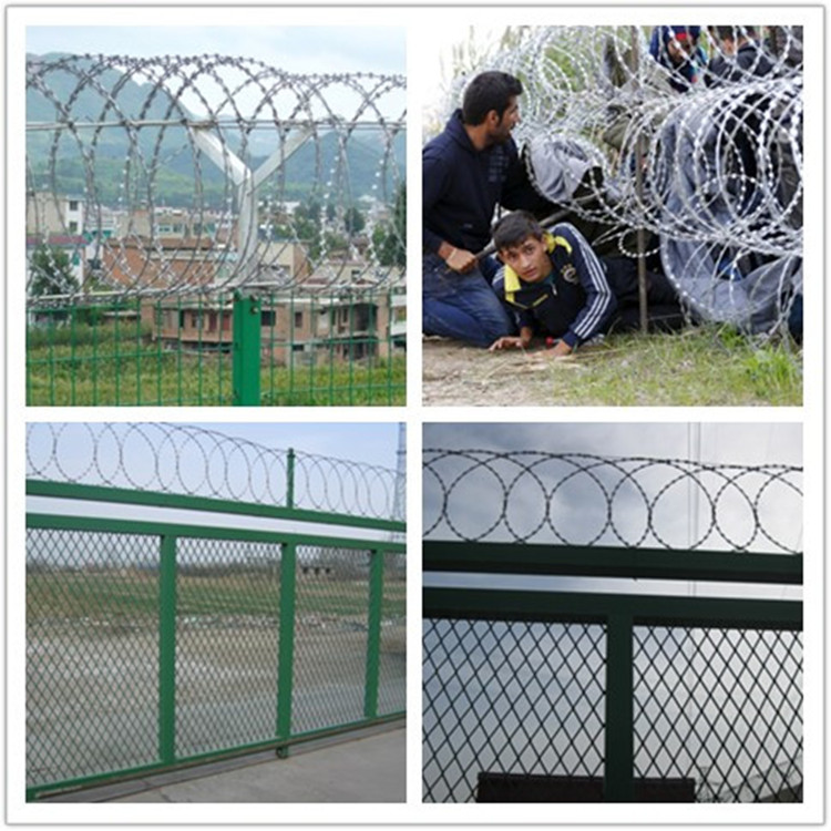 bard wire fence