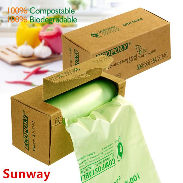 Biodegradable Kitchen Trash Bags