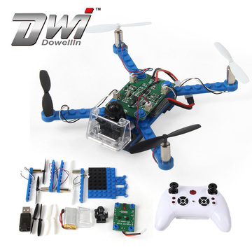 DWI Dowellin 2.4G Electronic Kits Flying DIY Frame Drone d For Kids