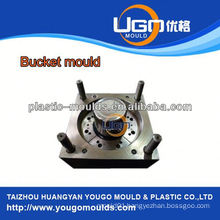 TUV assesment mould factory/new design 20 litre plastic paint bucket mould in China