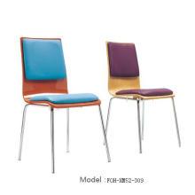 Wholesale Restaurant Furniture Chaise de restaurant à empilage blanc (FOH-XM51-494)